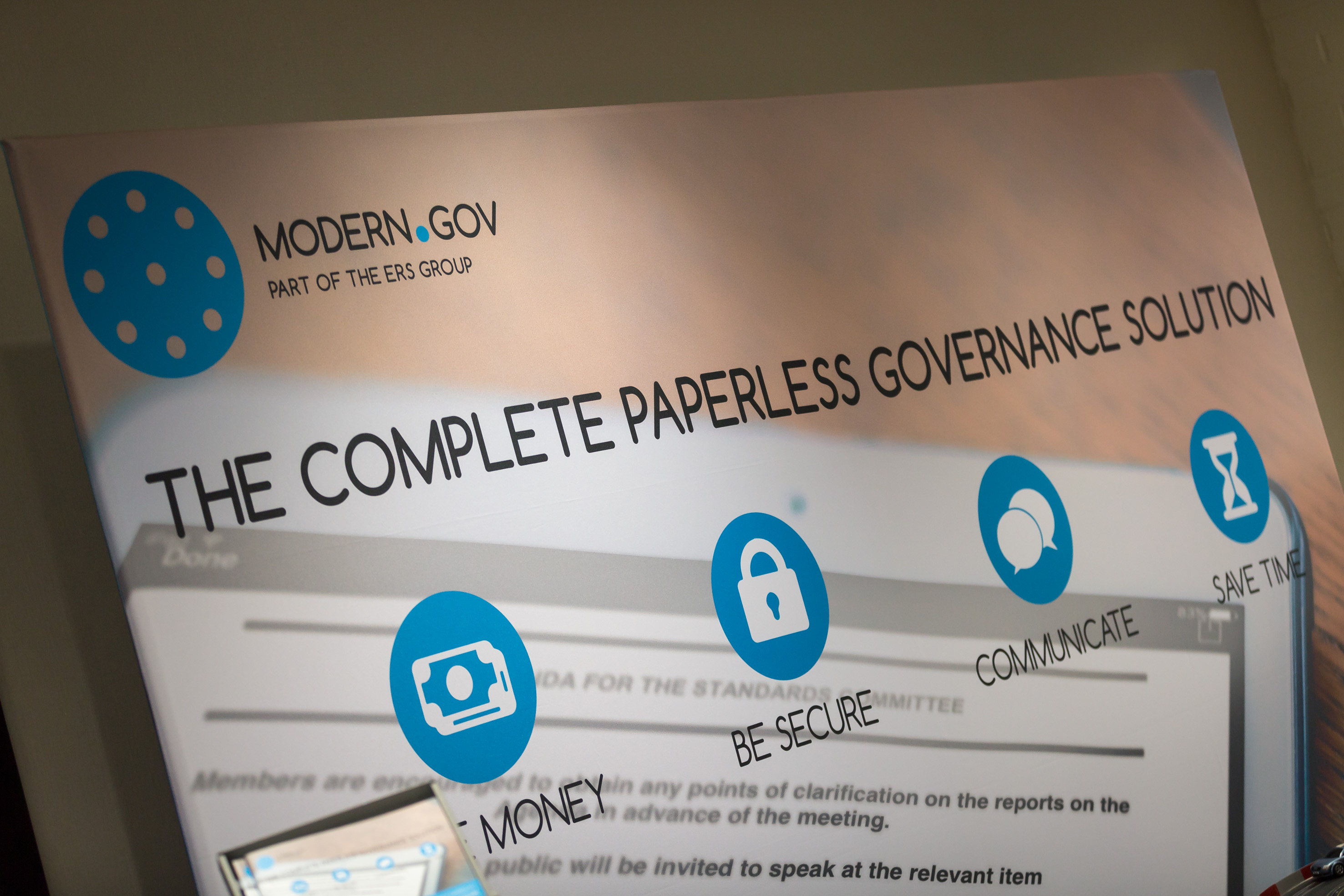 modern.gov our main sponsor