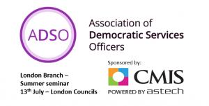 ADSO London Branch - Summer Seminar @ London Councils | England | United Kingdom
